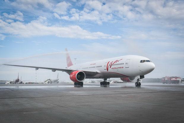 Загрузка первого рейса ВИМ АВИА Пекин-Санкт-Петербург составила 269 пассажиров