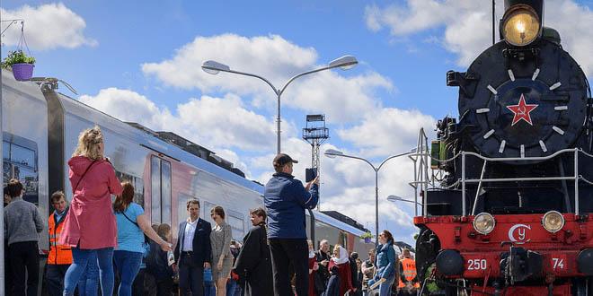 Новый поезд свяжет Москву и Санкт-Петербург с Карелией 1