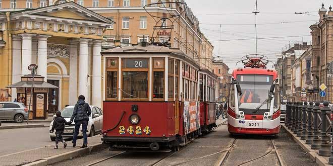 Ретротрамвай станет новым туристическим брендом Петербурга