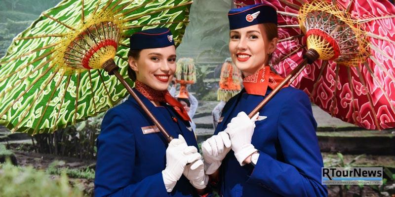 «Россия» отметила первый год прямых регулярных полетов в Денпасар, на остров Бали 1