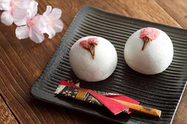 Сладкие. Розовые. Весенние — японские десерты