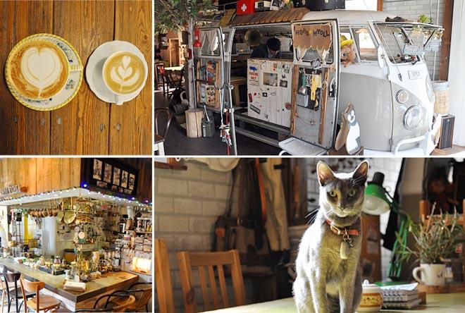 10 необычных кафе Сеула - Ho Ho Myoll