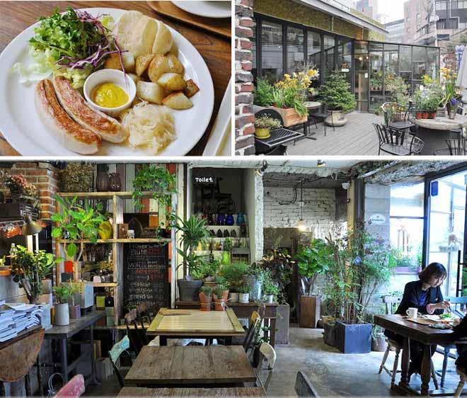 10 необычных кафе Сеула - Blüte
