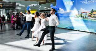 Сиртаки в Пулково - Mouzenidis и Ellinair устроили петербуржцам День Греции 14