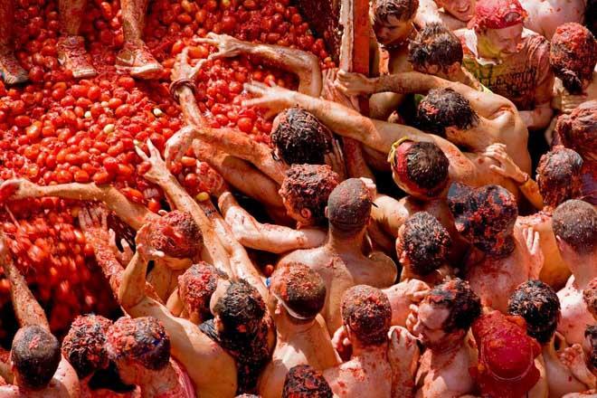 18 августа в Санкт-Петербурге устроят битву помидорами