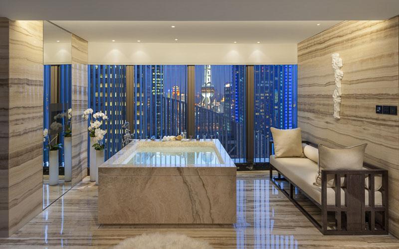 Президентский люкс в отеле Mandarin Oriental Pudong, Шанхай