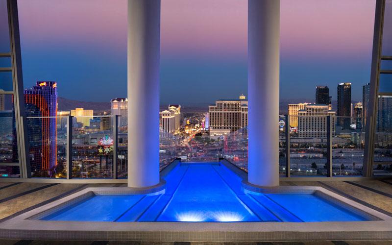 Двухэтажный Sky Villa в отеле Palms Casino Resort, Лас-Вегас
