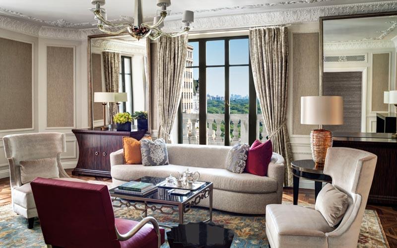 Президентский люкс в отеле St Regis, Нью-Йорк
