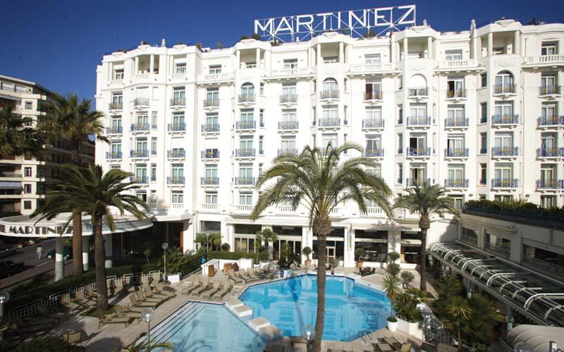 Люкс в пентхаусе в Grand Hyatt отель «Мартинес», Канны
