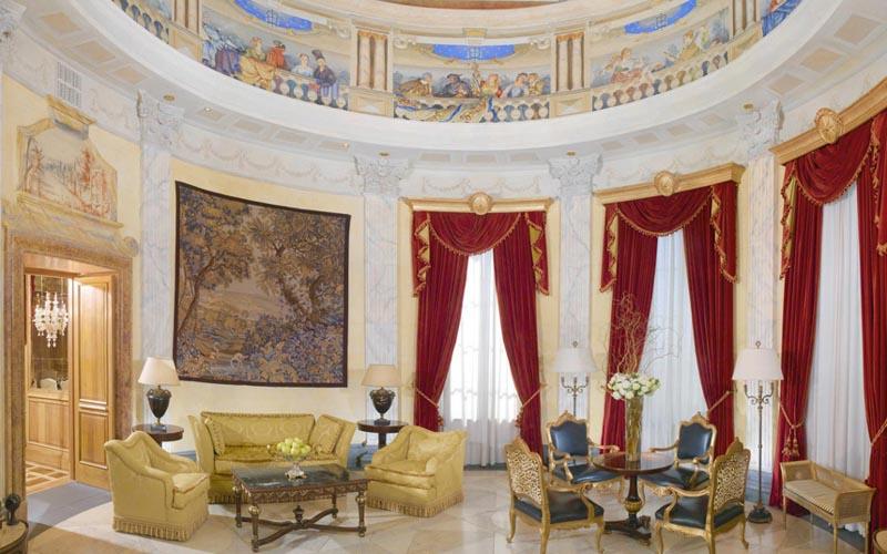 Villa La Cupola в отеле Westin Excelsior, Рим