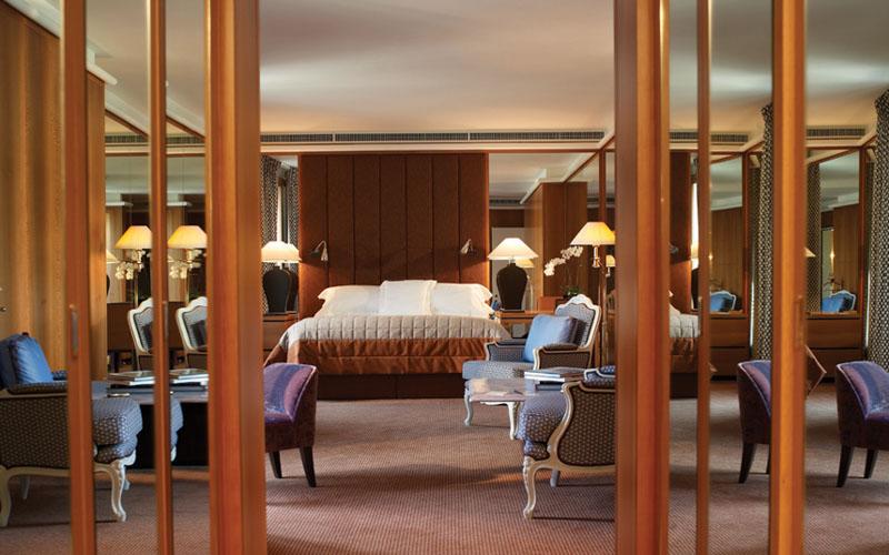 Королевский люкс Armleder в отеле Le Richemond, Женева