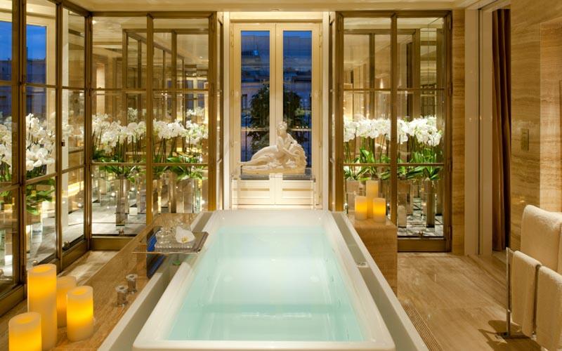 Пентхаус в отеле Four Seasons George V, Париж