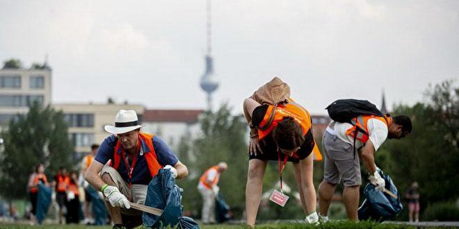 Убери мусор и отправляйся на экскурсию по Берлину бесплатно!