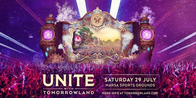 На Мальте состоится легендарный музыкальный фестиваль UNITE with Tomorrowland