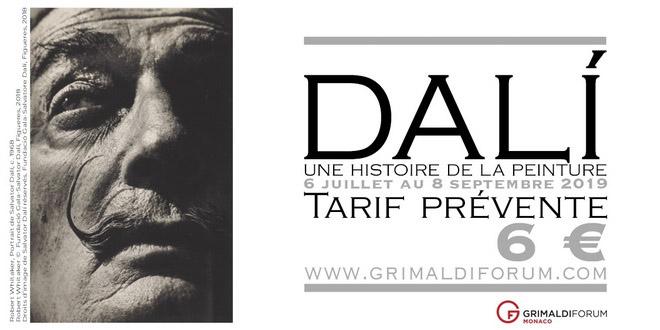 В Монако пройдет выставка Сальвадора Дали