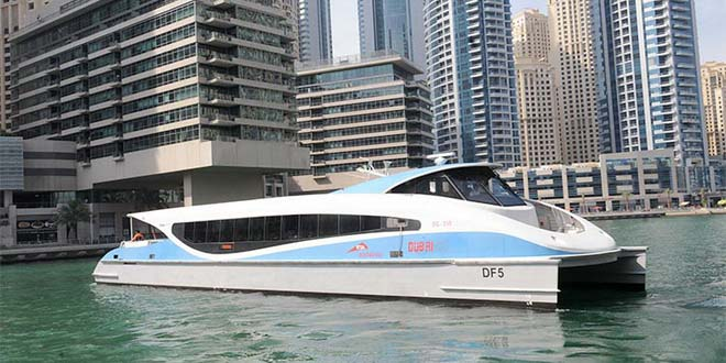 Между Шарджей и Дубаем появился водный трансфер