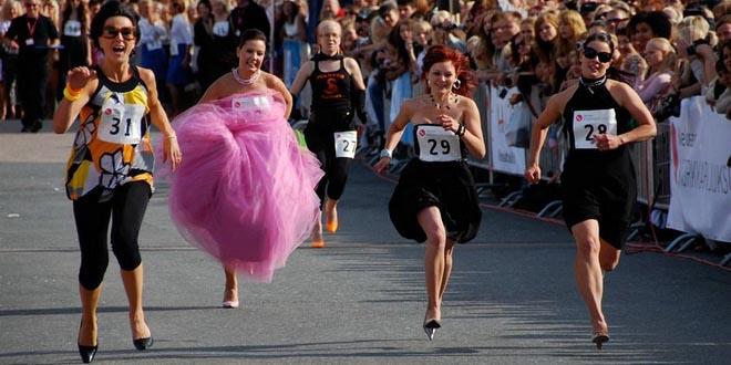 Победителей забега на шпильках на Кипре наградят круизами