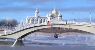 Туристы стале чаще приезжать в Великий Новгород